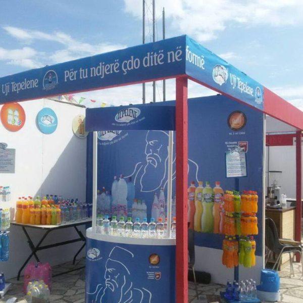 Uji Tepelene me shumellojshmerine e produkteve, ne Panairin e Gjirokastres, Argjiro Fest 2015!